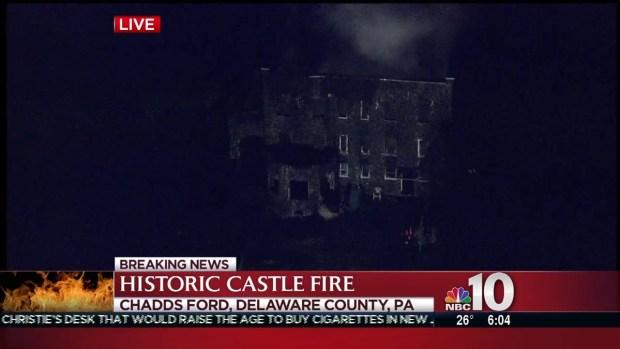 [PHI] Fire Damages Historic Castle