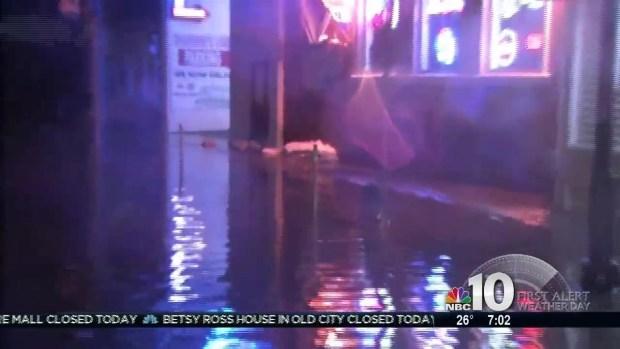 Sea Isle City Flooding