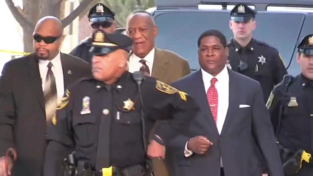 WATCH: Bill Cosby Arrives for Court Hearing