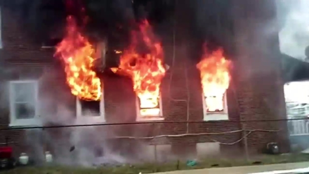 VIEWER VIDEO: Raging Fire Claims Boy's Life
