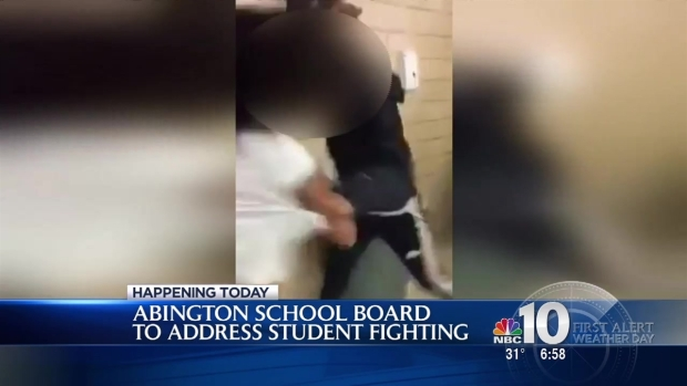 [PHI] Abington School Board Talks 'FightWeek'