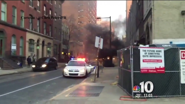 [PHI] Underground Fire in Center City Leads to Power Outages