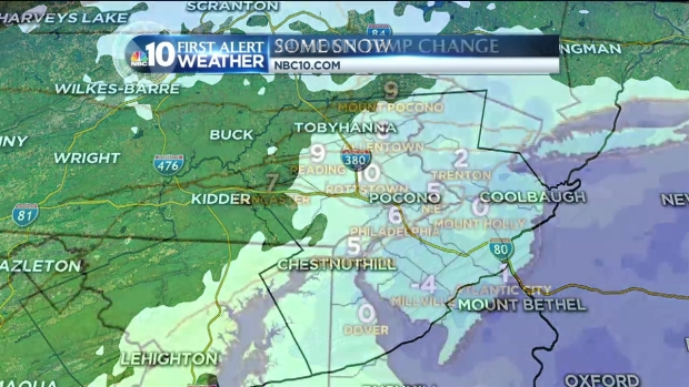 [PHI] NBC10 First Alert Weather: Morning Snow Showers