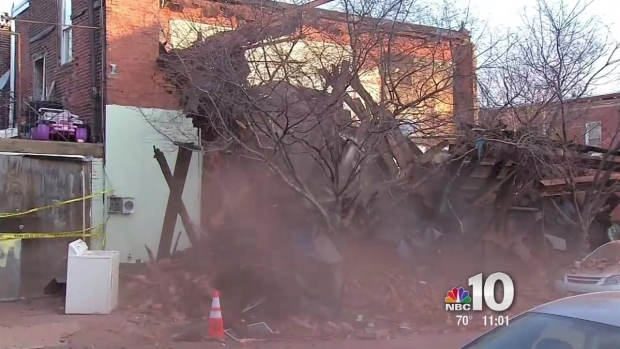 Family Home Comes Tumbling Down