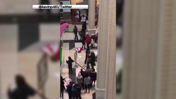 [PHI] Video Shows Easter Bunny in New Jersey Mall Brawl