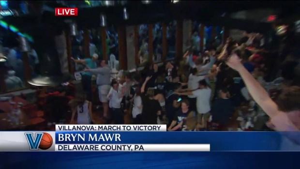Fans in a Frenzy Following Villanova's Championship Win