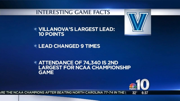 Villanova's National Championship by the Numbers