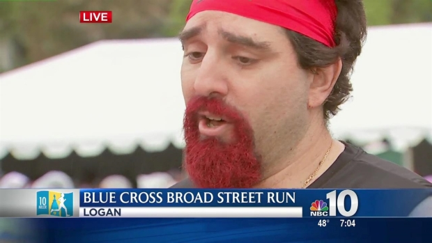 [PHI] Local Runner Dons Kilt, Runs Broad Street for a Good Cause