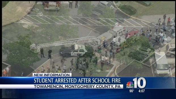 [PHI] Student in Custody After Fire at North Penn High School
