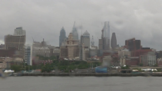 Time-Lapse Shows Storms Rolling Through Philly