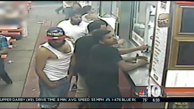Search for Geno's Steaks Assault Suspects