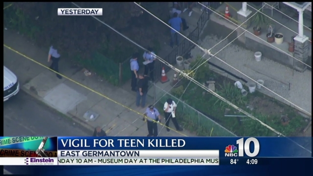 [PHI] Vigil Held for 13-Year-Old Boy Killed in Accidental Shooting
