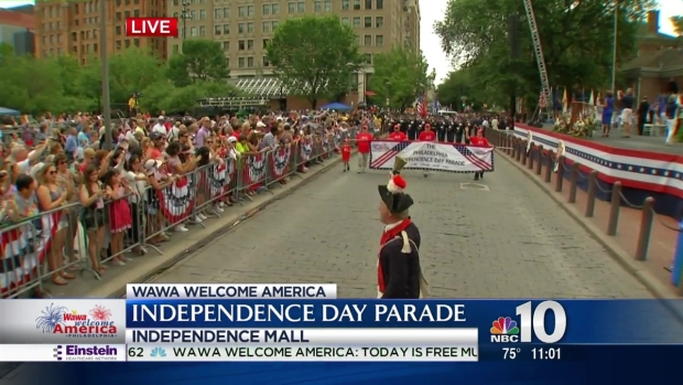 Philly's Independence Day Parade Kicks Off With a Cry
