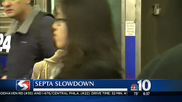 SEPTA Works With Fewer Trains