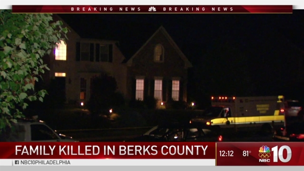 Family Dead in Berks County Murder-Suicide