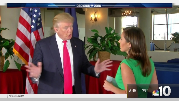 NBC10's One-on-One Interview with Donald Trump