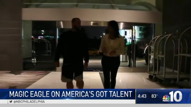 Magic Eagle Jon Dorenbos Flies West for AGT Finale