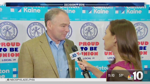 [PHI] NBC10 Talks to Tim Kaine Day After VP Debate