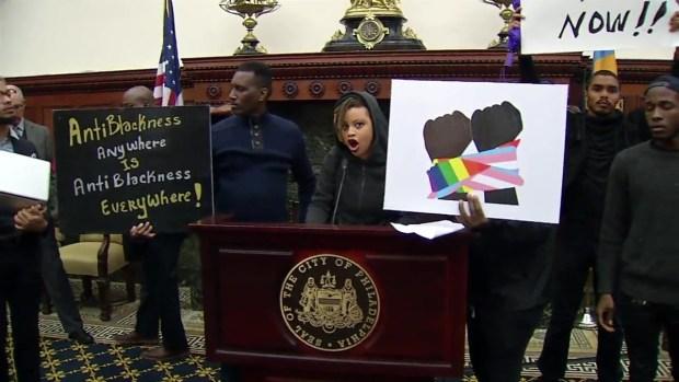 WATCH: Protesters Interrupt Mayor's Pride Flag Raising Ceremony