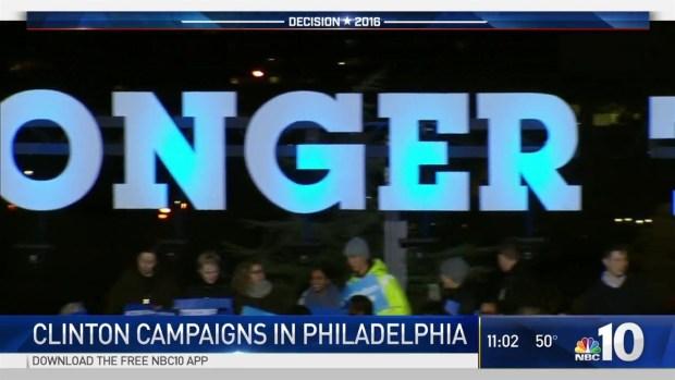 [PHI] Clinton Stumps Before Huge Crowd at Penn Park in West Philadelphia