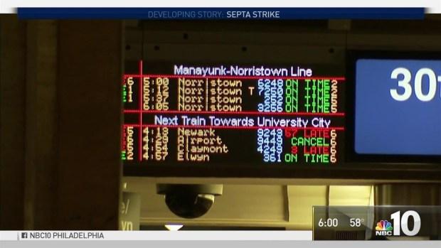 SEPTA Strike: 30th Street Station Chaos