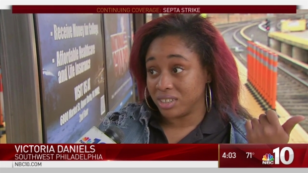 Commuters Suffer Through SEPTA Strike