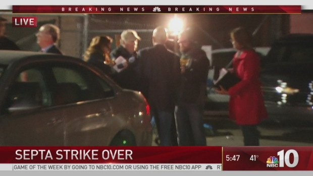 SEPTA Strike Is Over