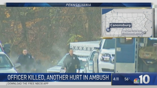 Officers Ambushed in Canonsburg