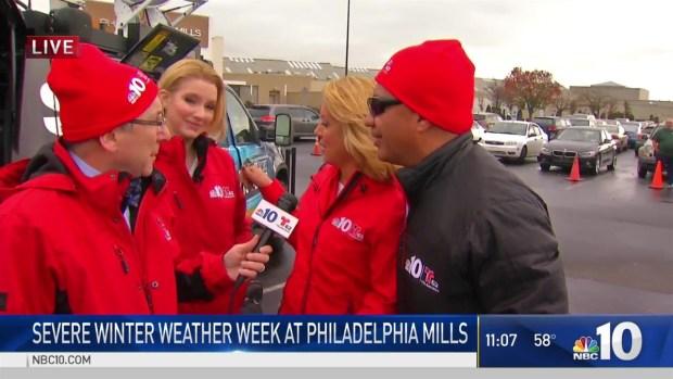 Severe Winter Weather Week Goes to Philadelphia Mills