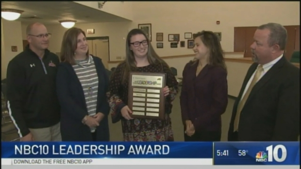 Widner High School Leadership Award Given to Ridley HS's Emily Rouse