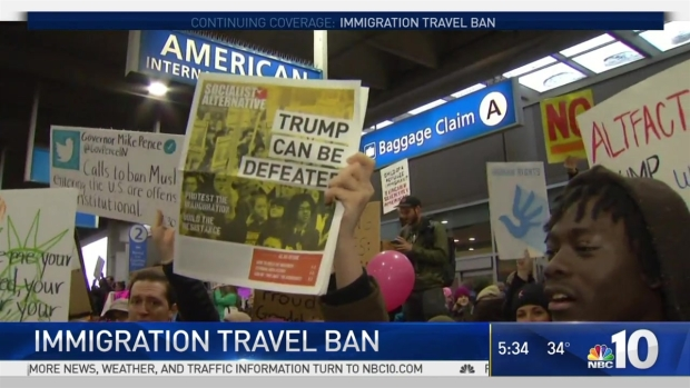 Immigration Ban Hangs Over Philadelphia Airport