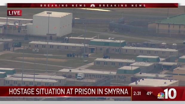 Hostage Situation at Delaware Prison