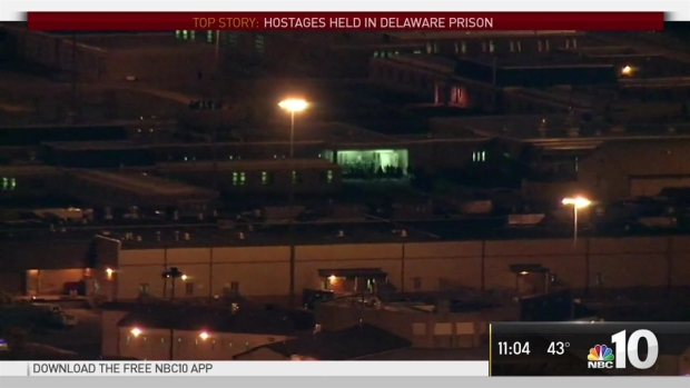 Former Negotiator Speaks on Ongoing Hostage Situation at Prison in Delaware