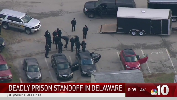 Authorities ID Officer Killed Delaware Prison Standoff