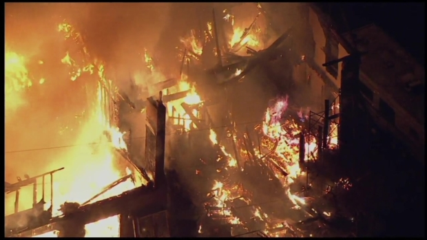 Firefighters Battle Fire at Old Hotel Turned Into Home in Lehigh County
