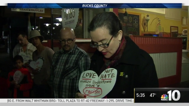 Fighting Hate With Love in Bucks County
