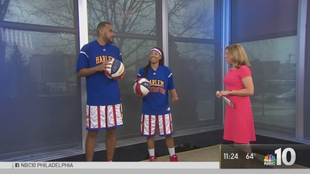 Harlem Globetrotters Spin Into Philly