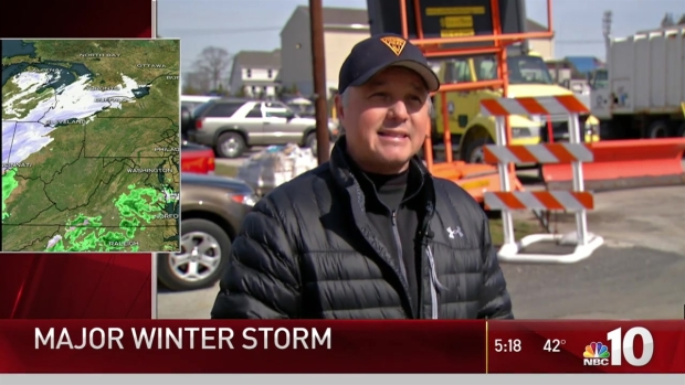 South Jersey Preps for Blizzard
