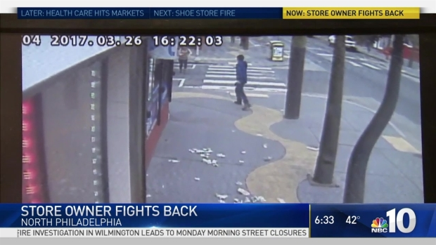 Caught on Video: Store Owner Fights Back as Neighbors Snag Cash