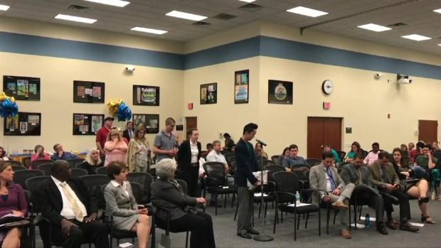 Students and Community Members Speak on Embattled Assistant Dean in Abortion Debate Video