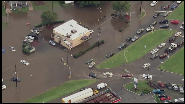 Heavy Rain Leads to Extensive Flooding in South Jersey