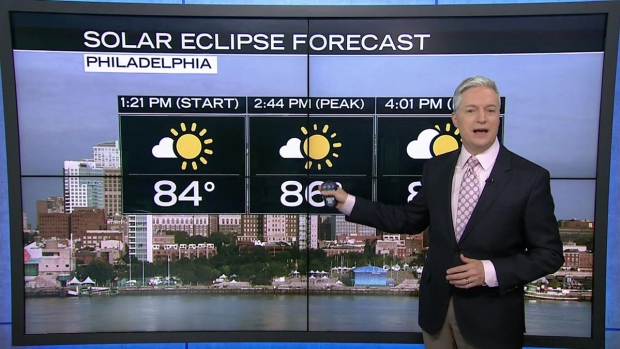 [PHI] NBC10 First Alert Weather: Eclipse Viewing Conditions