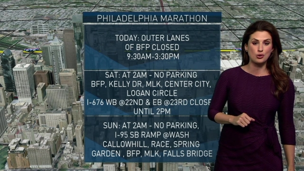 [PHI] Philly Marathon Traffic: Everything You Need To Know