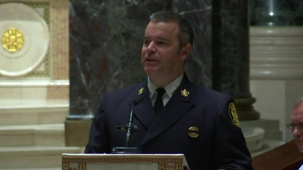 Livestream, photos from funeral of fallen Philly firefighter