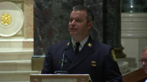Firefighter killed in collapse remembered for humor, spirit