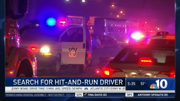 Search for Schuylkill Expressway Hit-and-Run Driver