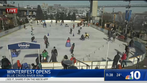 Winterfest Opens at the Blue Cross RiverRink