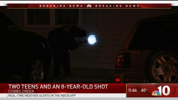 [PHI] 3 Boys Shot in West Philadelphia