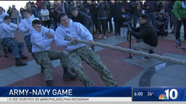 [PHI] Army-Navy Game Excitement in Philly Ahead of Big Match Up