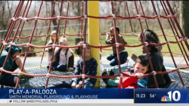 Get Outside an Play at Smith Memorial Playground